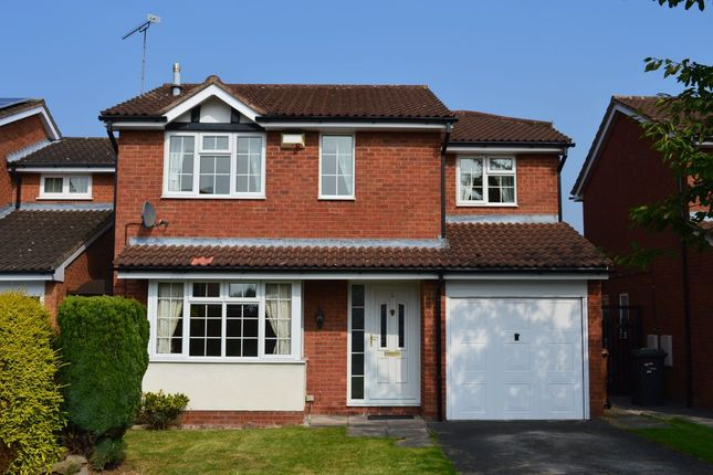 Thumbnail Detached house to rent in Priory Close, Crewe