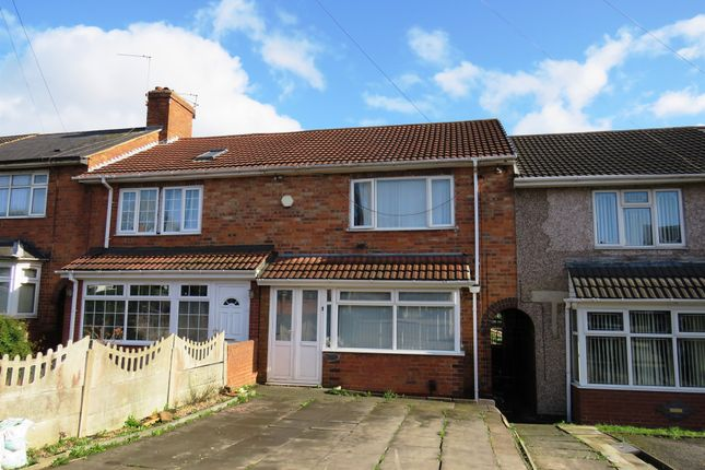 Thumbnail Terraced house for sale in Heather Road, Small Heath, Birmingham
