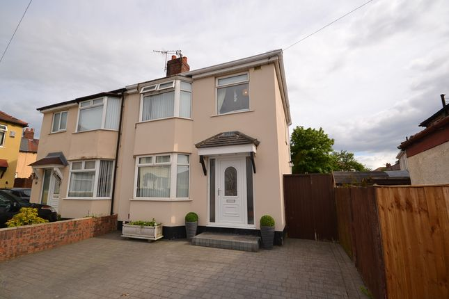 Thumbnail Semi-detached house for sale in Kinley Gardens, Bootle, Bootle