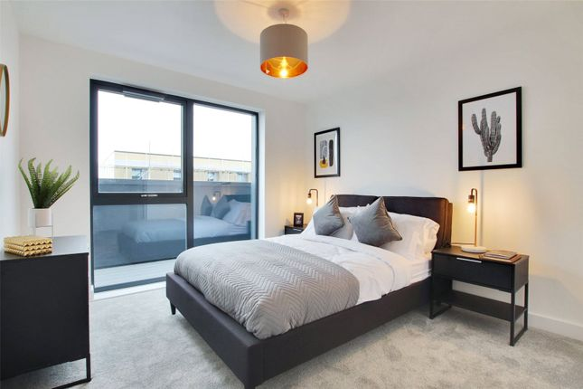 2 bed flat for sale in Victoria Point, George Street, Victoria Way, Ashford, Kent TN23