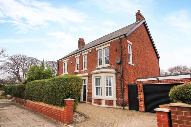 Thumbnail Semi-detached house for sale in Hawthorn Gardens, Whitley Bay