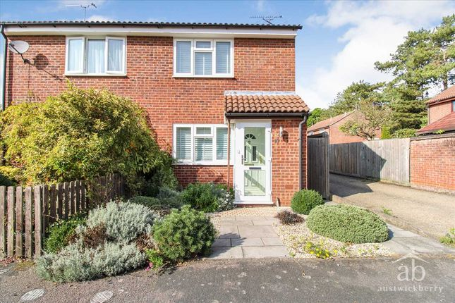 Thumbnail 2 bed end terrace house to rent in Cobbold Road, Woodbridge