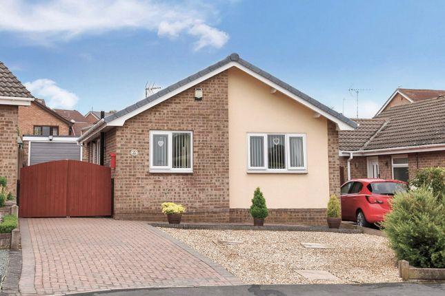 Thumbnail Detached bungalow for sale in Peveril Crescent, West Hallam, Ilkeston