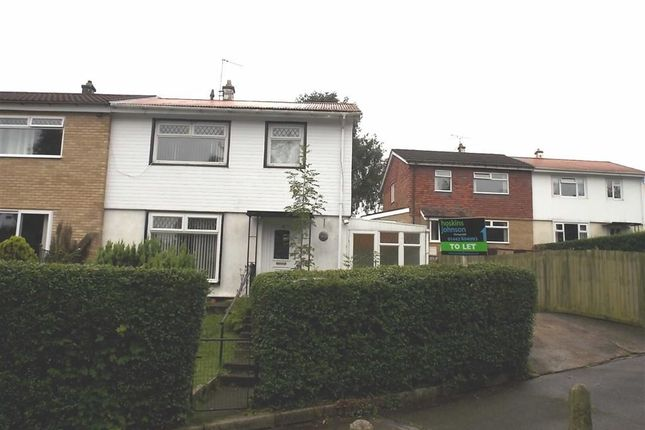 Thumbnail Semi-detached house for sale in Cwmalsie Crescent, Blackwood, Gwent