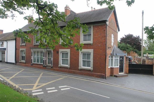 Thumbnail Town house for sale in Mill Street, Wem, Shrewsbury