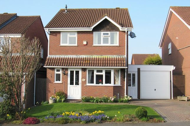 Thumbnail Detached house for sale in Rushford Close, Monkspath, Solihull