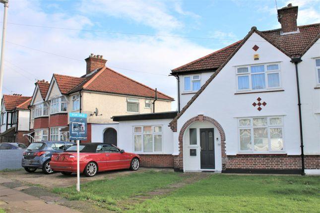Thumbnail Semi-detached house for sale in Wimborne Avenue, Hayes