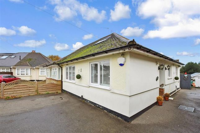 Thumbnail Semi-detached bungalow for sale in Catherine Close, Pilgrims Hatch, Brentwood, Essex