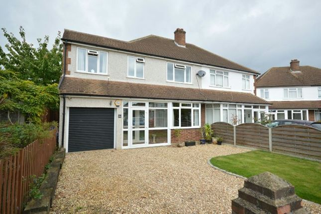 Thumbnail Semi-detached house for sale in Cumberland Drive, Chessington