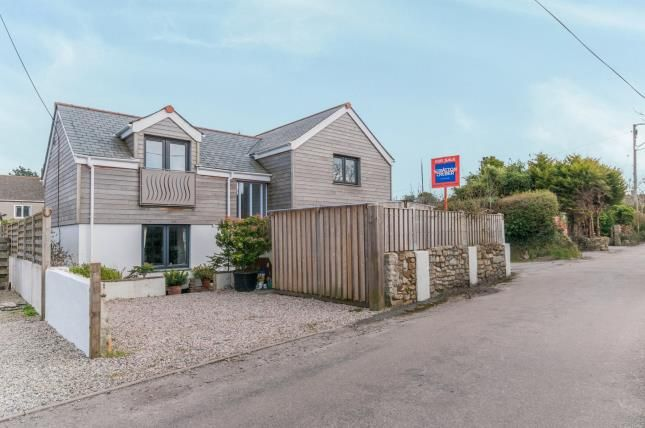 Thumbnail Detached house for sale in St. Day, Redruth, Cornwall