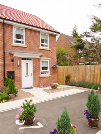 Thumbnail End terrace house for sale in Heathside, Huntington, York