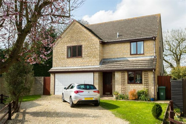Thumbnail Detached house for sale in Park Close, Middleton Stoney, Bicester, Oxfordshire
