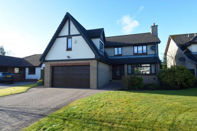 Thumbnail Detached house for sale in Troon Gardens, Cumbernauld, North Lanarkshire