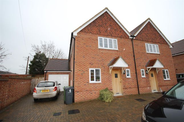 Thumbnail Semi-detached house to rent in Greyhound Mews, Letcombe Regis, Wantage