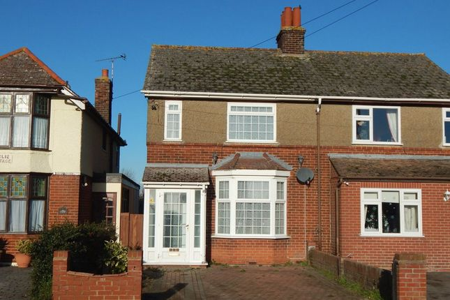 Thumbnail Semi-detached house for sale in Main Road, Dovercourt