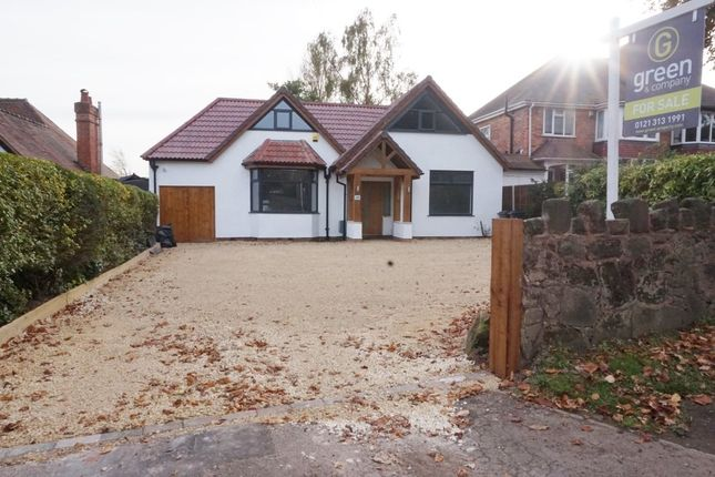 Thumbnail Detached bungalow for sale in Penns Lane, Wylde Green, Sutton Coldfield