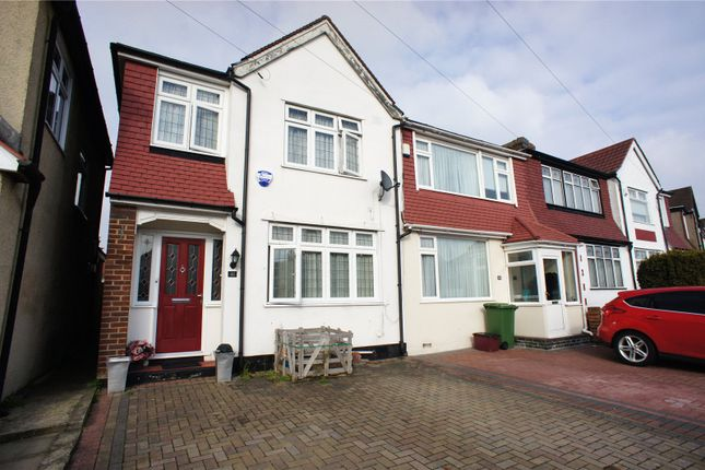 Thumbnail Detached house for sale in Amberley Road, Abbey Wood, London