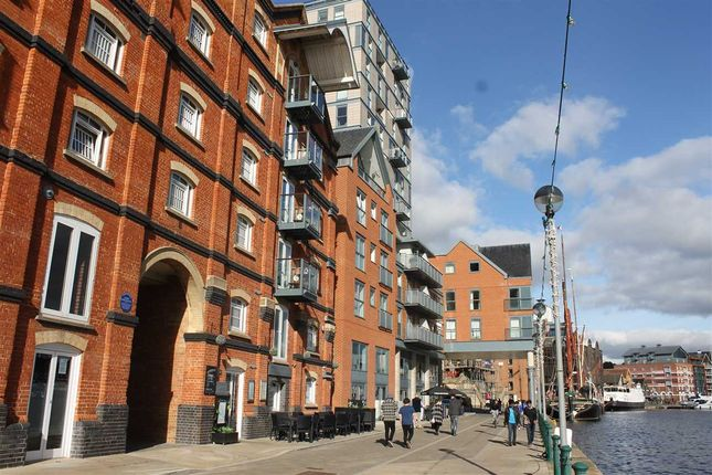 Thumbnail Flat to rent in The Cambria, Regatta Quay, Ipswich