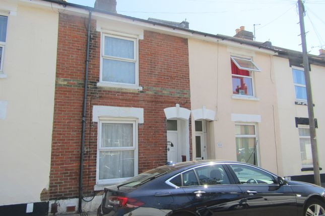 Thumbnail Terraced house to rent in Harrow Road, Southsea