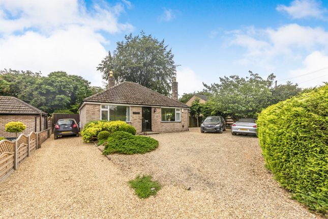 Thumbnail Detached bungalow for sale in New Road, Ryhall, Stamford