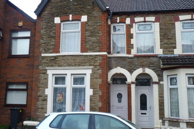 Thumbnail Terraced house for sale in Diana Street, Roath Cardiff