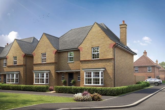 "Thumbnail Detached house for sale in ""The Lavendon"" at Kiln Drive, Stewartby, Bedford"