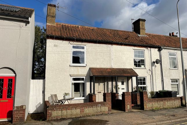 2 bed end terrace house for sale in London Road, Dereham NR19