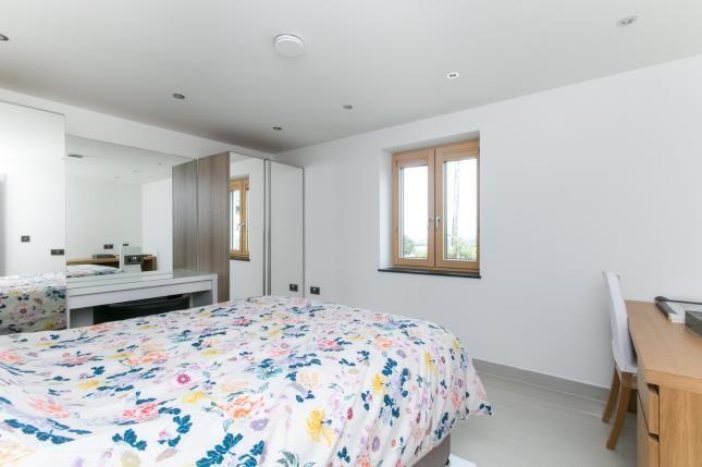 Bedroom of Carmel, Llanrwst, Conwy, North Wales LL26