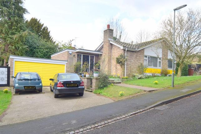 Thumbnail Detached bungalow for sale in Birchfield Grove, Epsom