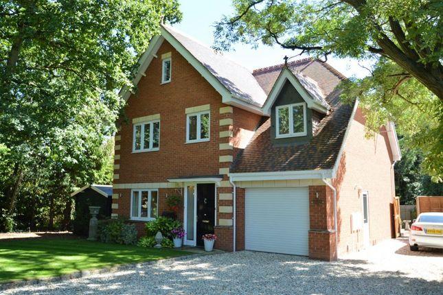 Thumbnail Detached house for sale in Warren Road, Woodley
