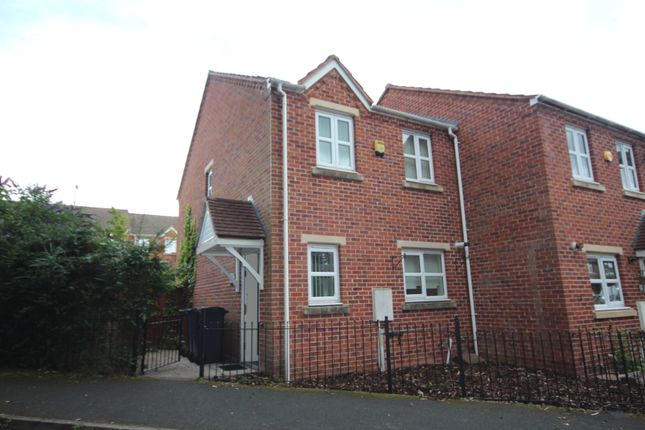 Thumbnail End terrace house to rent in Willett Avenue, Burntwood