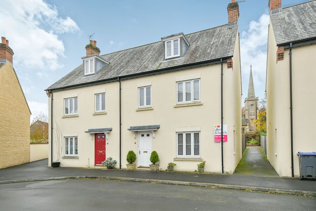 Thumbnail Semi-detached house for sale in Chapel Street, Derry Hill, Calne
