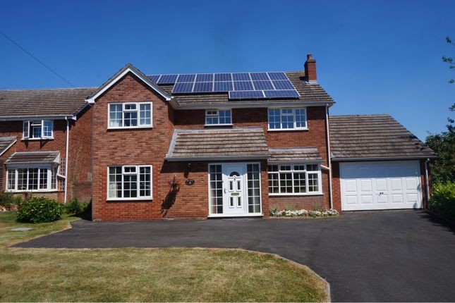 Thumbnail Detached house for sale in Oak Road, Shrewsbury