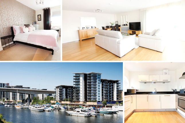 Thumbnail Flat for sale in Picton, Watkiss Way, Cardiff Bay
