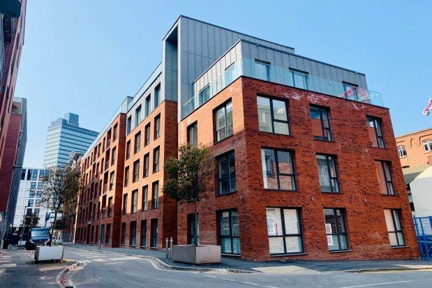 Thumbnail 1 bed flat to rent in Halo House, Manchester