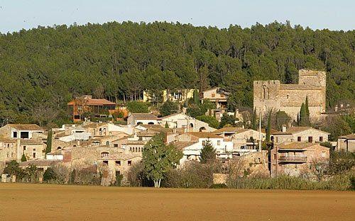 Carrer De Les Eres, Saus-Camallera, Llambilles, Girona, Catalonia, Spain