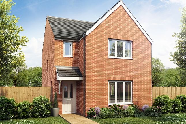 """Thumbnail Detached house for sale in """"The Hatfield"""" at Market View, Dorman Avenue South, Aylesham, Canterbury"""