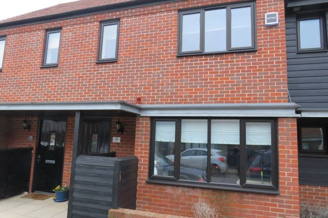 Thumbnail Terraced house for sale in Hawley Drive, Leybourne, West Malling
