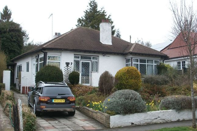 Thumbnail Detached bungalow to rent in Briton Hill Road, Sanderstead, South Croydon