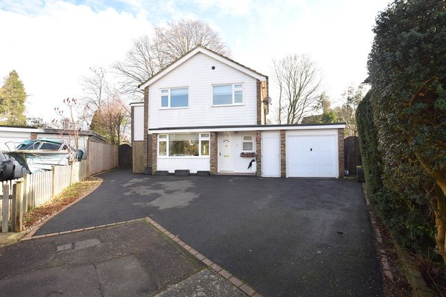Thumbnail Detached house for sale in Paget Close, Horsham, West Sussex