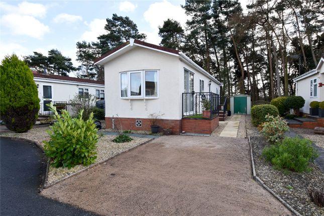 Thumbnail Bungalow for sale in Doverdale Park Homes, Hampton Lovett, Droitwich, Worcestershire