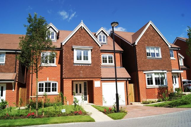 Thumbnail Detached house for sale in The Croft, Ash Green, Surrey