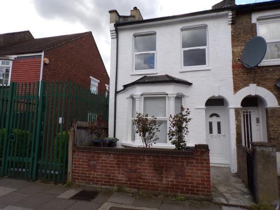 Thumbnail End terrace house for sale in Felixstowe Road, London