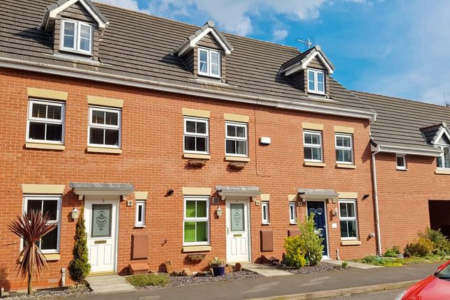Thumbnail Town house to rent in Lambert Crescent, Nantwich