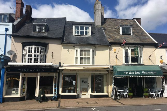 Thumbnail Retail premises for sale in High Street, Honiton, Devon