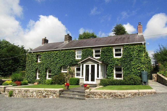 Thumbnail Detached house for sale in Rhydargaeau Road, Rhydargaeau, Carmarthen, Carmarthenshire.