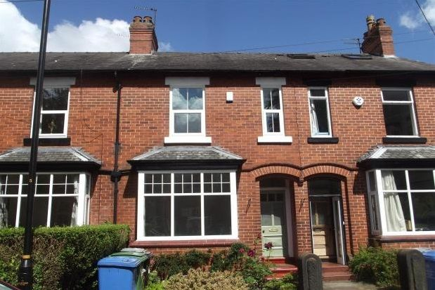 Thumbnail Terraced house to rent in Linden Avenue, Altrincham