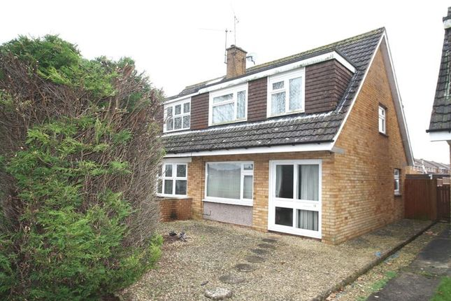 Thumbnail Semi-detached house to rent in Lowbourne, Whitchurch, Bristol