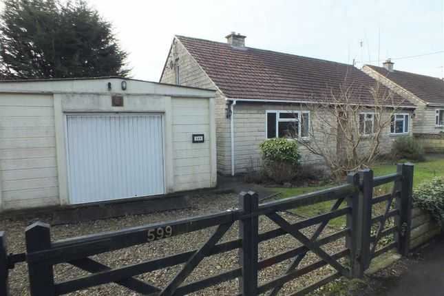 Thumbnail Detached bungalow for sale in Berryfield Lane, Meksham, Wiltshire