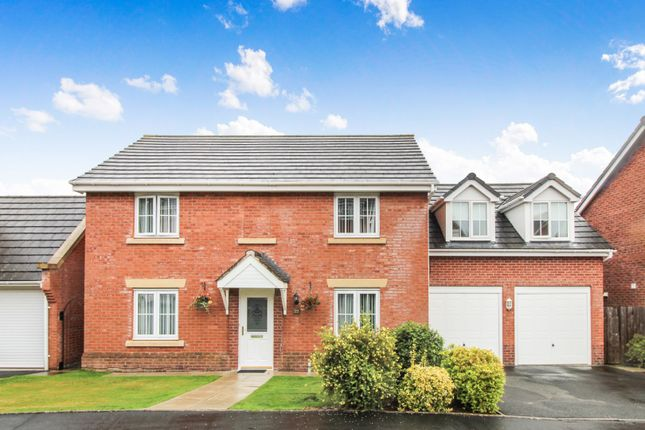 Thumbnail Detached house for sale in Bentley Drive, Oswestry